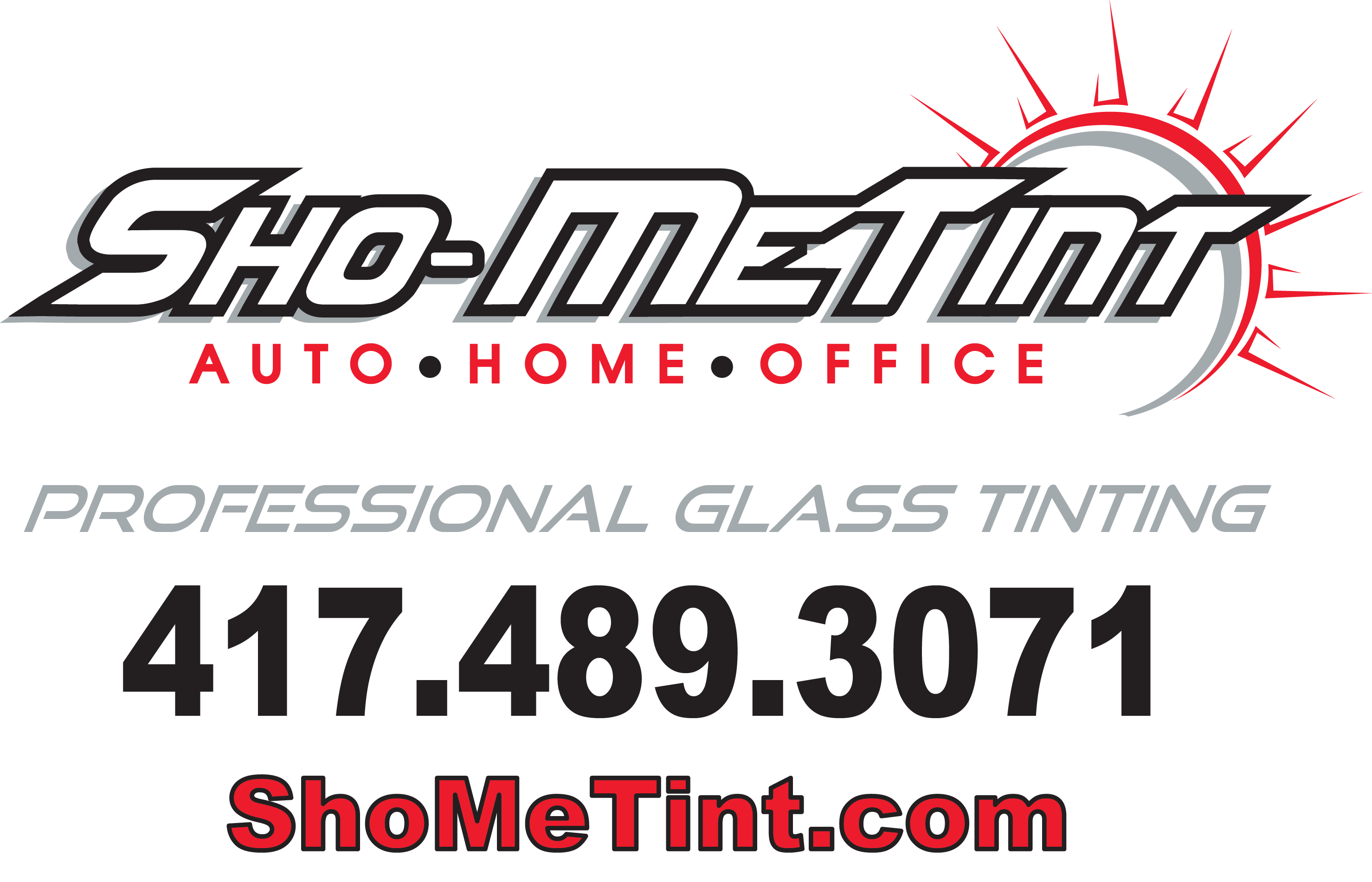 Sho-Me Tint - Professional Glass Tinting Logo