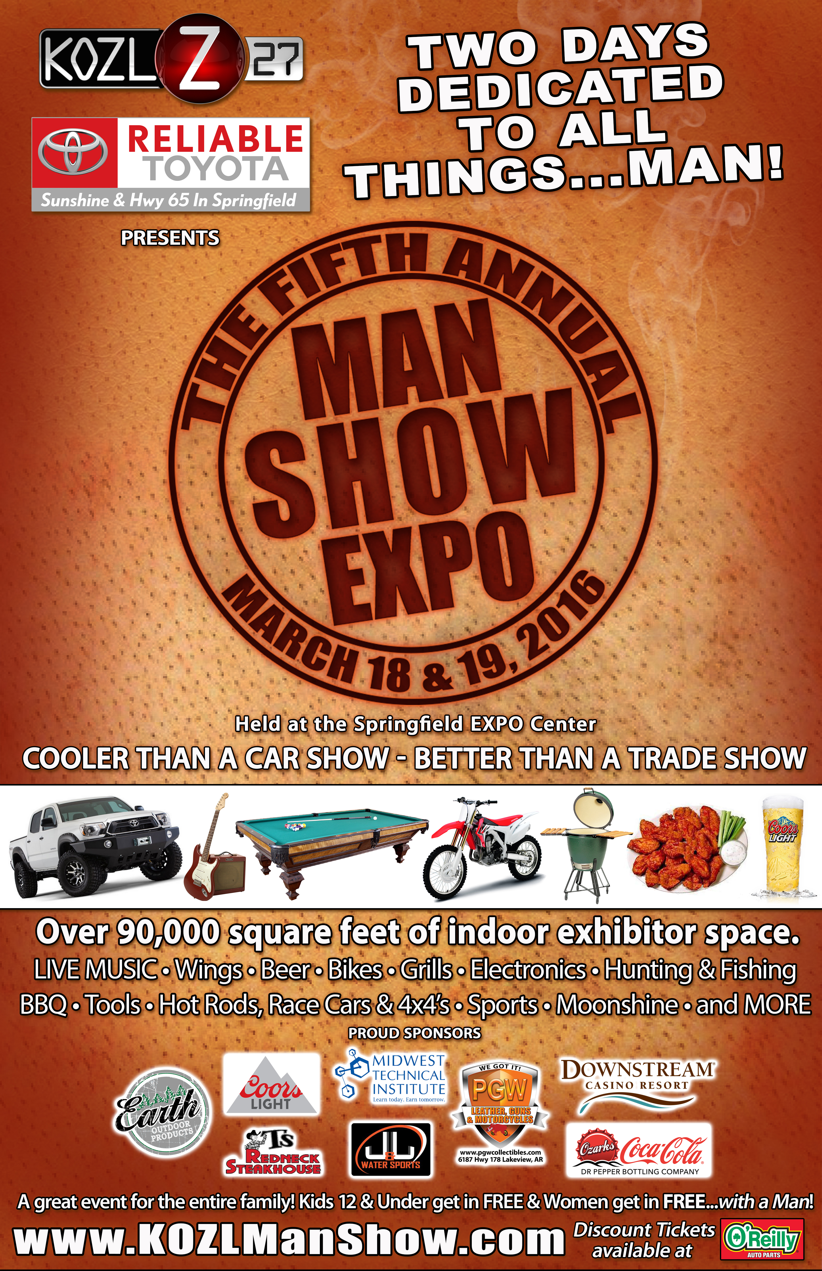 2016 MAN SHOW POSTER