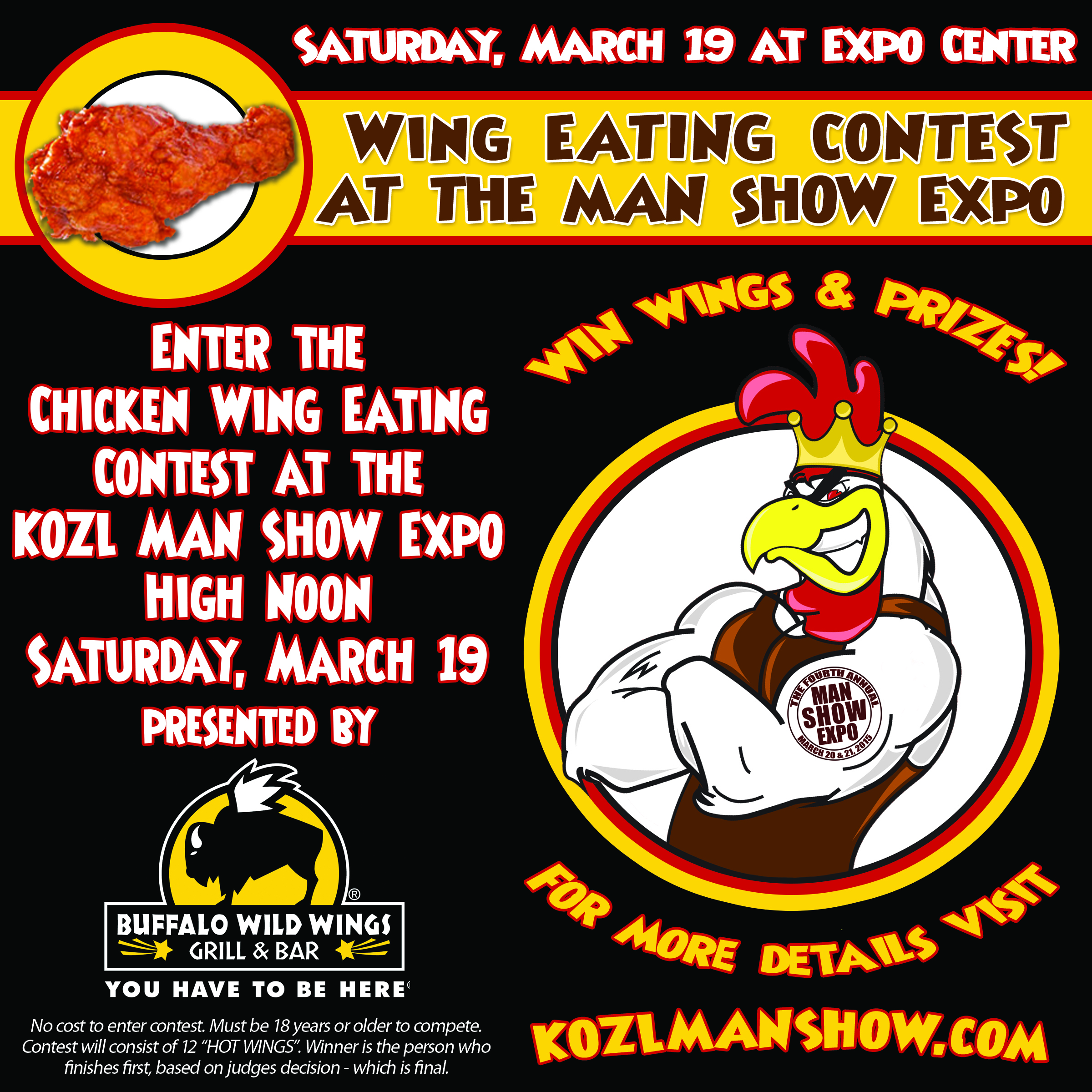 Wing Contest at MAN SHOW 2016