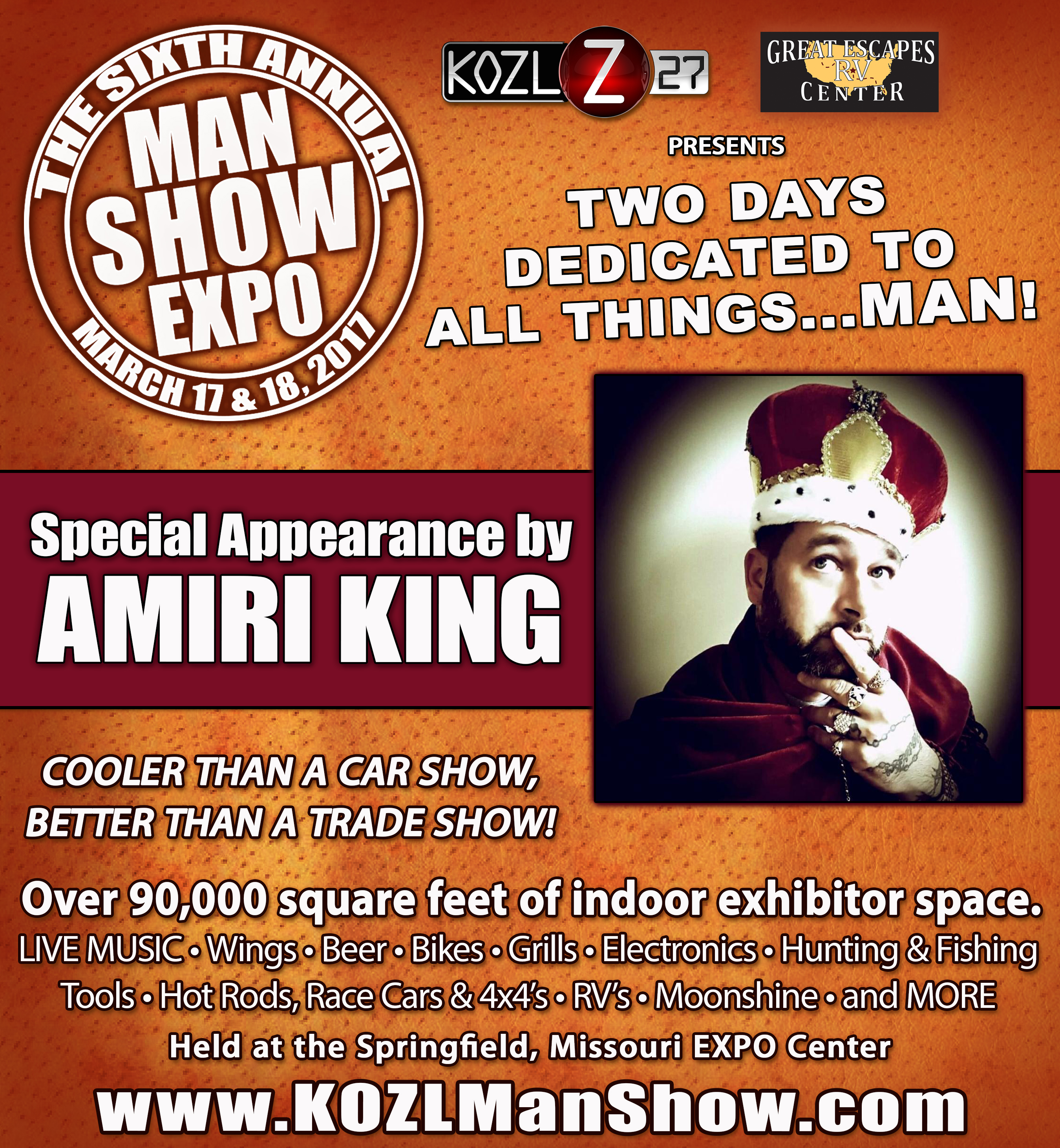 Man Show Expo AMIRI KING