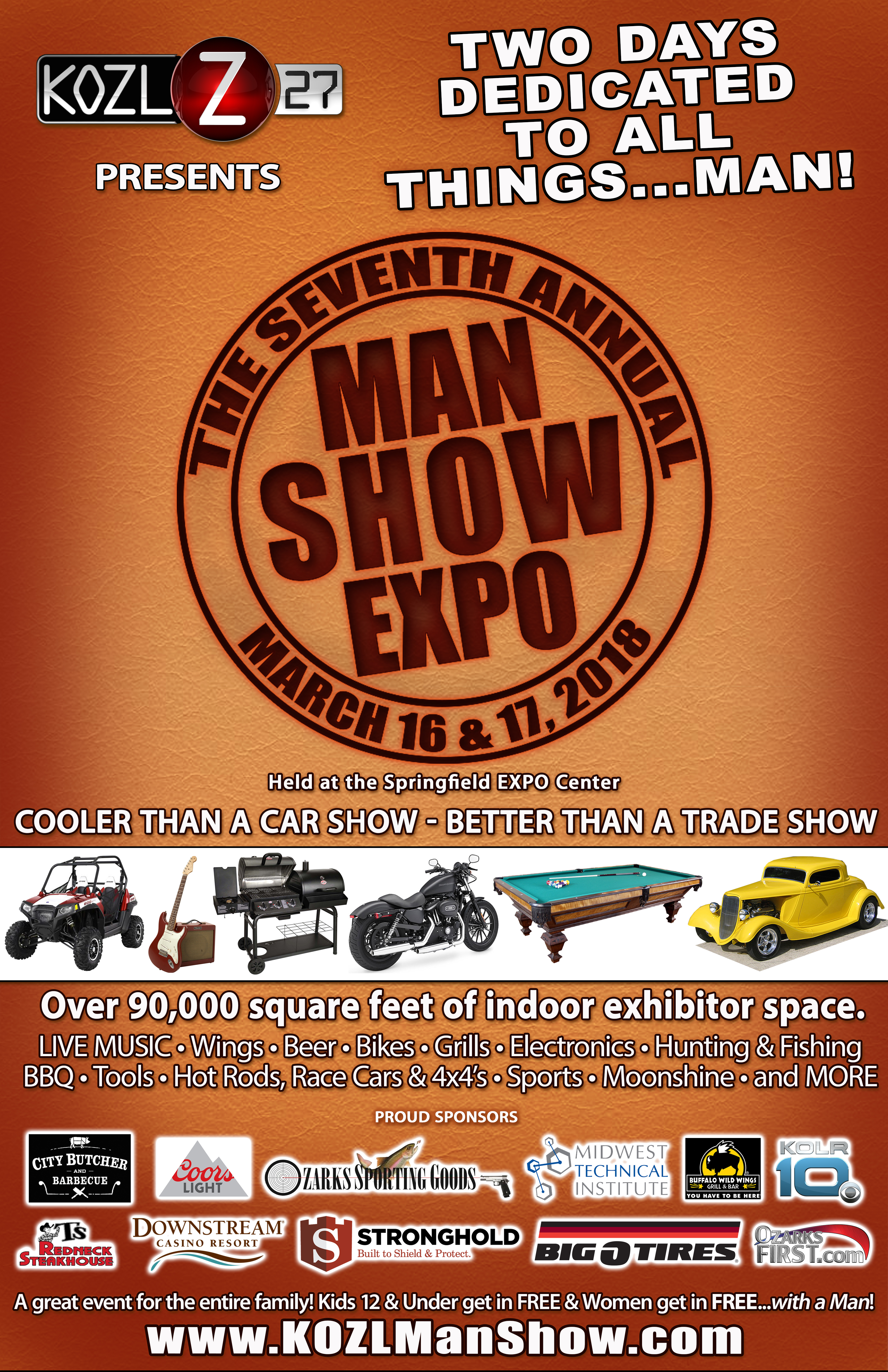 2018 MAN SHOW POSTER